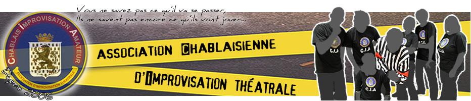 Equipe Chablaisienne d'Improvisation Théâtrale [CIA] – 9e saison